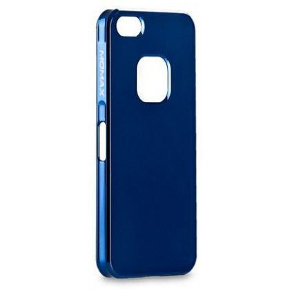 Momax Ultra Thin for iPhone 5, Shiny series, Blue