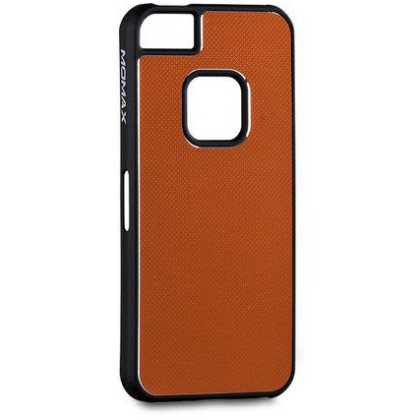 Momax fT for iPhone 5, Feel & Touch series alu, Orange Black