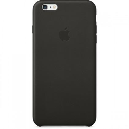 Apple Kožený kryt na iPhone 6 Plus - černý