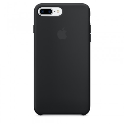 iPhone 7 Plus Silicone Case - Black