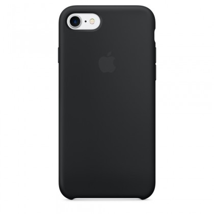 iPhone 7 Silicone Case - Black
