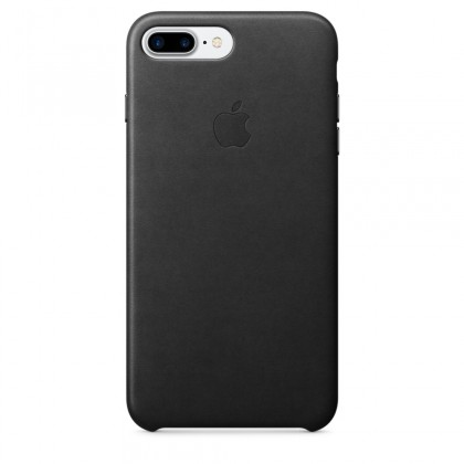 iPhone 7 Plus Leather Case - Black