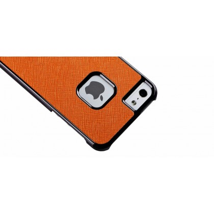 Momax fT for iPhone 5, Feel & Touch series, Orange Black