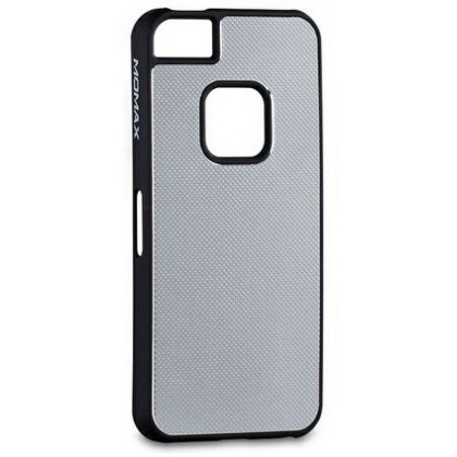 Momax fT for iPhone 5, Feel & Touch series alu, Silver Black
