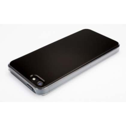 QDOS Smoothies Pure for iPhone 5 - Black Double glass finish