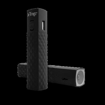 iFrogz GoLite - černá baterie 2600mAh + LED