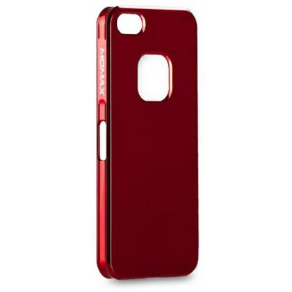 Momax Ultra Thin for iPhone 5, Shiny series, Red
