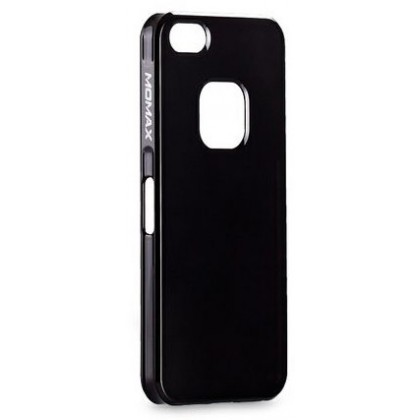Momax Ultra Thin for iPhone 5, Shiny series, Black