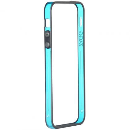 Perimeter (bumper) pro Apple iPhone 5 - modrá