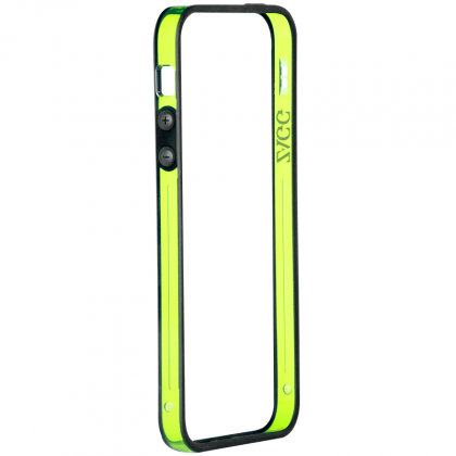 ZAGG - Perimeter Bumper for iPhone 5 - Green