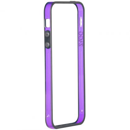 Perimeter (bumper) pro Apple iPhone 5 - fialové
