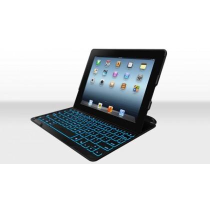 ZAGGkeys Folio černé s podsvícenou klávesnicí pro Apple iPad mini CZ/SK