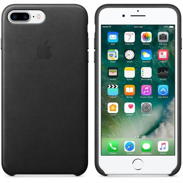 659c7a7d3 iPhone 7 Plus Leather Case - Black iSTYLE Apple Premium Reseller ...