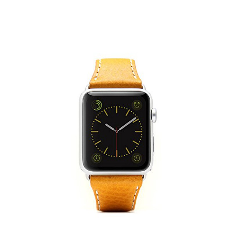 SLG Design - D6 Stripe Leather Band Apple Watch 42mm szíj