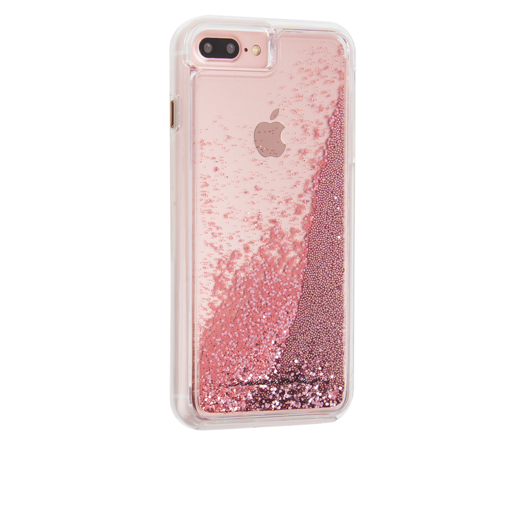 apple iphone 7 plus rose gold. case-mate - iphone 7 plus waterfall rose gold apple iphone