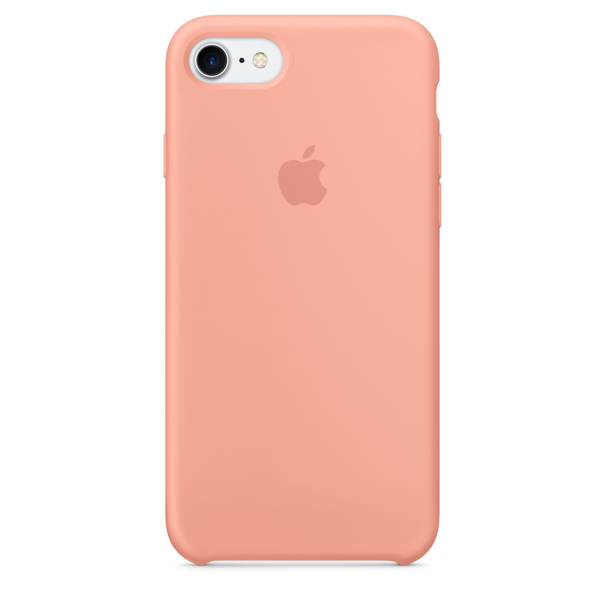 apple iphone 7 silicone case pink