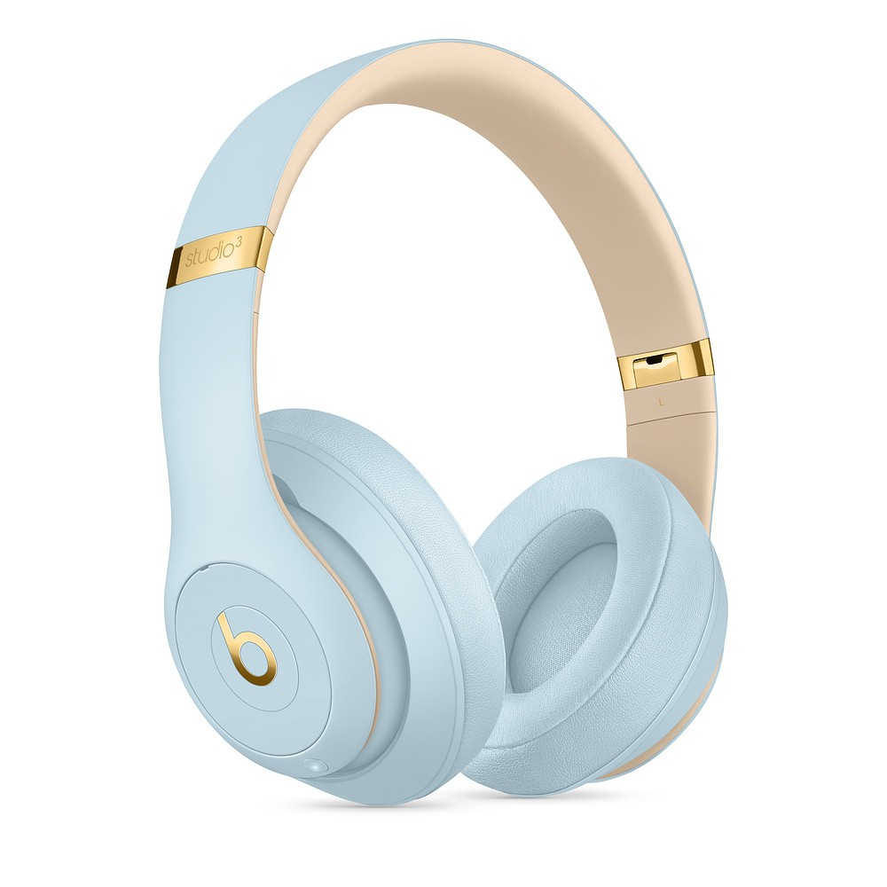 Beats Studio3 Wireless Headphones – The Beats Skyline Collection - Crystal Blue