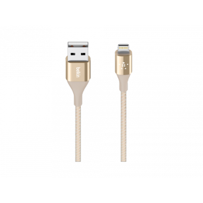 Belkin KEVLAR Lightning to USB Cable - Gold