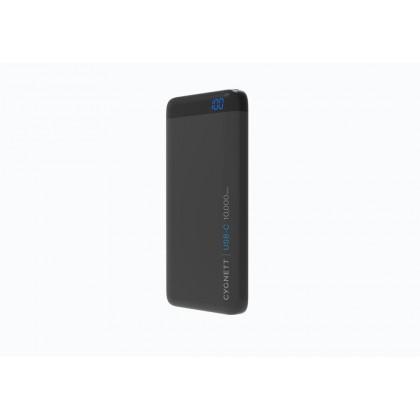ChargeUp Pro 10000mAh USB-C(15W), USB-A(18W,QC3.0), 18W-Total-Black