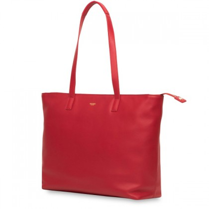 Knomo Maddox Leather Top-Zip Tote Classic Style Bag