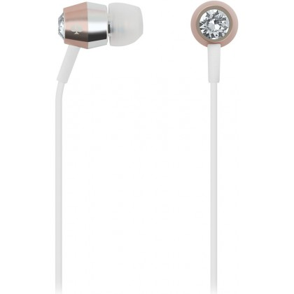 Kate Spade New York - Earbuds - Crystal / Rose Gold / Silver / White