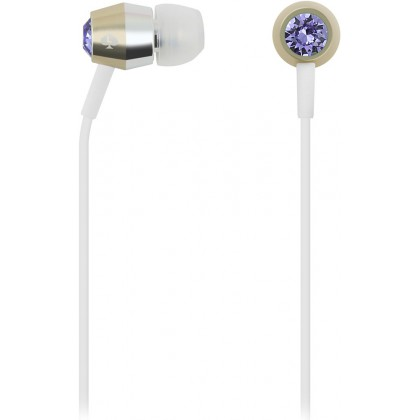 Kate Spade New York - Earbuds - Tanzanite / Gold / Silver / White