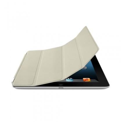 iPad Smart Cover - Leather - Cream