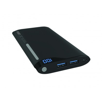 Cygnett ChargeUp Polymer 10,000 Charge Up Polymer Digital 10,000mAh 2 Ports /2.1A