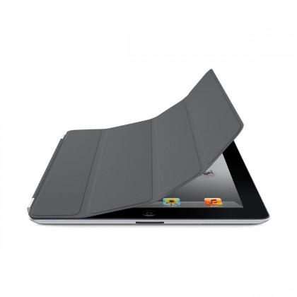 iPad 2 Smart Cover - Polyurethane - Dark Grey