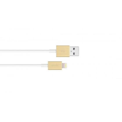 Moshi USB Cable 1M With Lightning Connector - Gold
