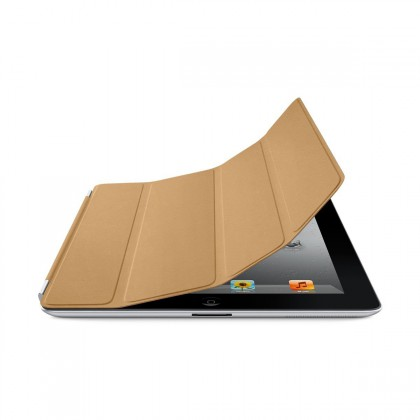 iPad Smart Cover - Leather - Tan