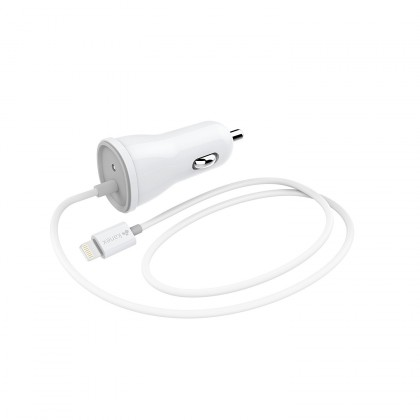 Lightning Car Charger - 2.4 Amps