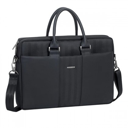 """RivaCase - 8135 Laptop business attaché 15.6"""" / 6 - Black"""