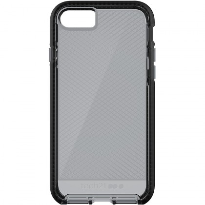 Tech21 Evo Check for iPhone 7 - Smokey/Black
