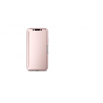 Moshi iPhone X Stealthcover - Champagne Pink