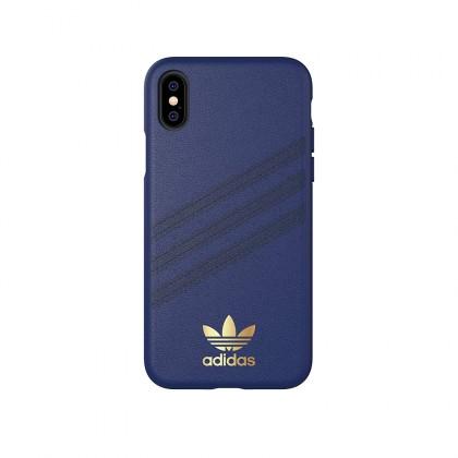 Adidas - iPhone XS - 3 Stripes Case - Samba Blue