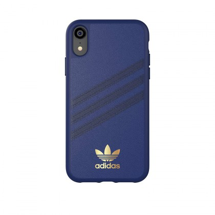 Adidas - iPhone XR - 3 Stripes Case - Samba Blue