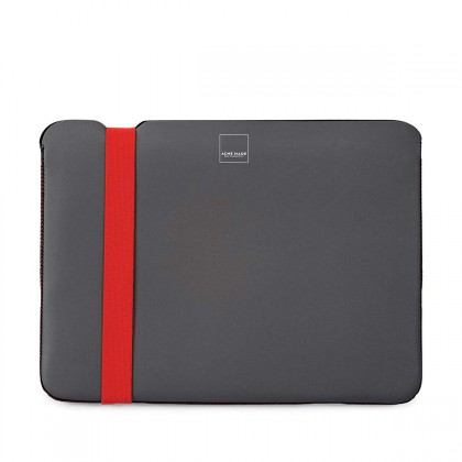 "Acme Made - Skinny Sleeve for MacBook 12"" - Grey/Orange"