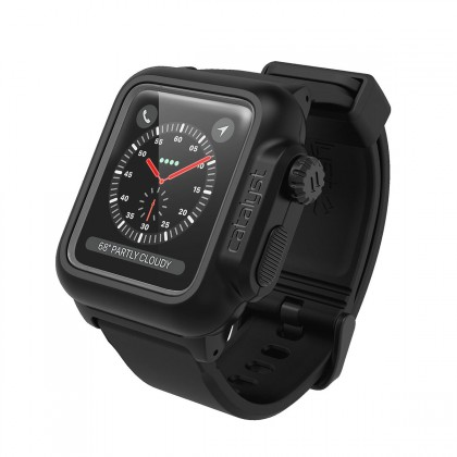 Catalyst - Waterproof Case for 42mm Apple Watch Series 3 - Stealth Black