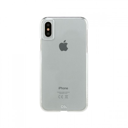 Case-Mate - iPhone X Barely There Case - Clear