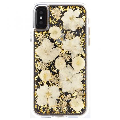 Case-Mate - iPhone X Karat Petals Case - Antique White