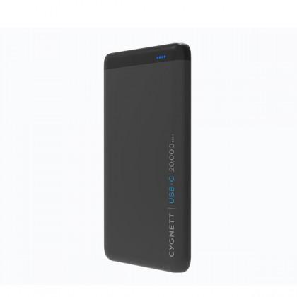 Cygnett - 20,000mAh USB-C Power Bank - Black