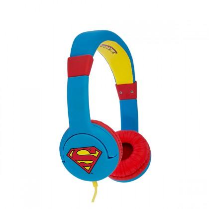 Jack & Cable - Super Man On Ear Headphone - Man Of Steel
