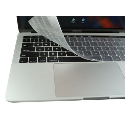 EZQuest Invisible Keyboard Cover for the 13inch & 15inch MacBook Pro with Touch Bar