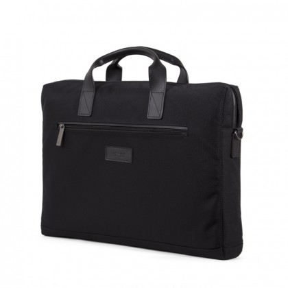 Tuhka Slim Briefcase  Black