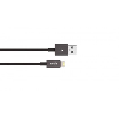 Moshi USB Cable 1M With Lightning Connector - Black