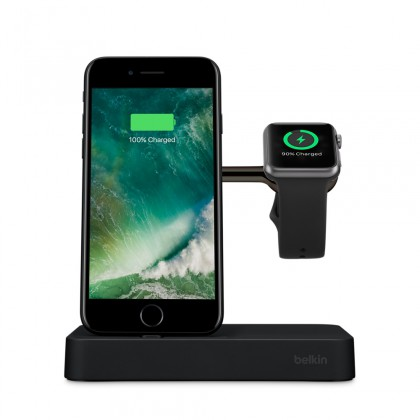 Belkin Premium Valet Charge Dock For  iPhone & Apple Watch