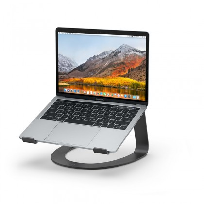 Twelve South Curve Aluminium Stand for MacBook - Matte Black