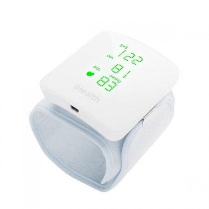 iHealth View Wrist Blood Pressure Monitor with Bluetooth Connectivity for Android & IOS