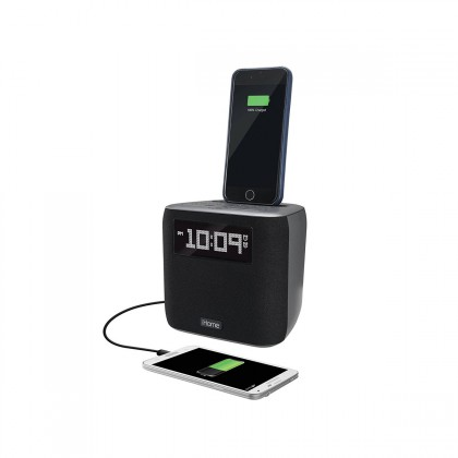 iHome speaker with lightning dock/USB